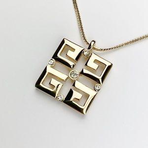 Givenchy Rare Logo Necklace